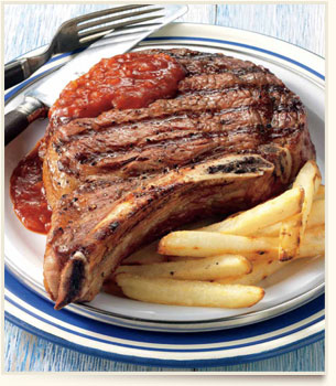 how to cook steak 1 inch thick on pan
